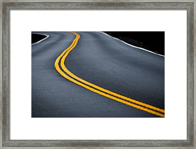 Road Work Framed Print by Joseph Smith