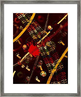 Roads Soul  Framed Print by Hiam  Kurdi
