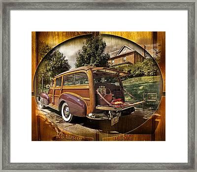 Roadside Picnic Framed Print
