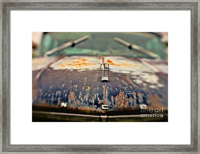 Roadside Relic Framed Print by Scott Pellegrin
