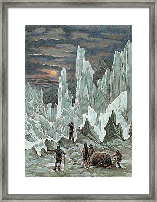 Roald Engebrecht Amundsen (borge, 1872 Framed Print by Prisma Archivo