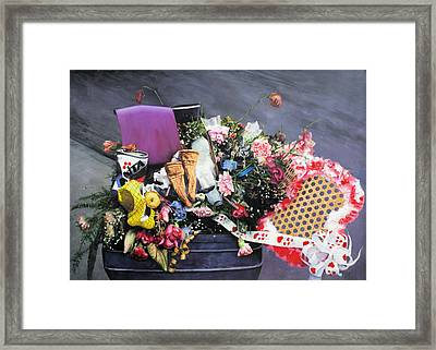 Roamin' Still Life Framed Print by Richard Barone