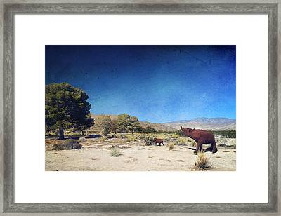 Roaming Framed Print