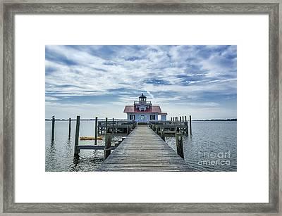 Roanoke Lighthouse Framed Print