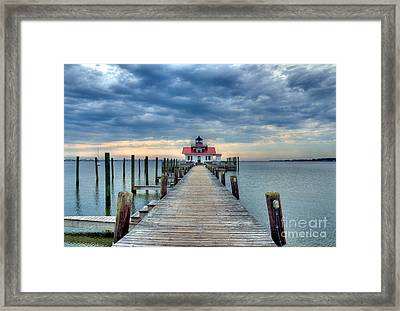 Roanoke Marshes Light 2 Framed Print