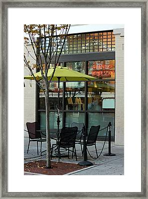 Roanoke Weiner Stand Framed Print
