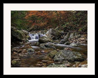 Roaring River Framed Prints