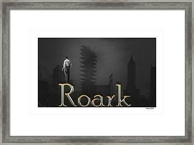 Roark Framed Print