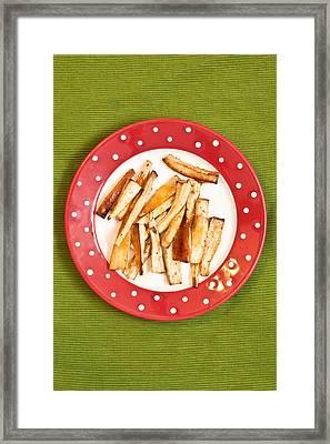 Roast Parsnips Framed Print