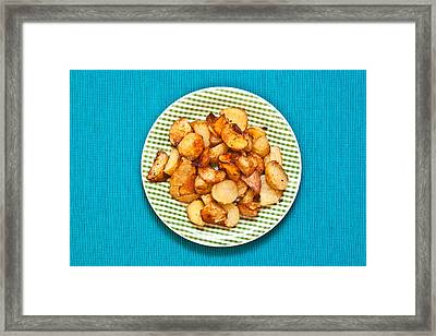 Roast Potatoes Framed Print