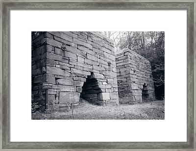 Roasting Furnaces Framed Print by David Fiske