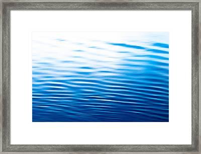 Roatan Honduras Blue Framed Print by Shane Holsclaw