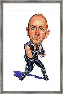 Rob Halford Framed Print by Art