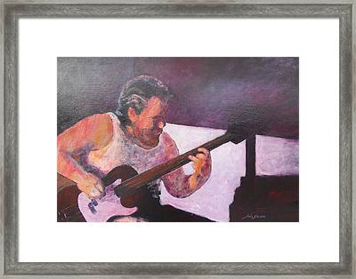 Framed Print featuring the painting Rob by John  Svenson