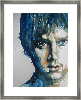 Rob Thomas  Matchbox Twenty Framed Print by Chrisann Ellis