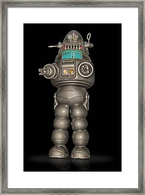 Robby The Robot Framed Print