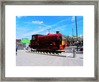 Robert At Stratford In Summer Framed Print by Mudiama Kammoh