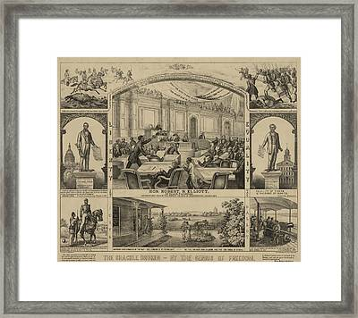 Robert B Framed Print