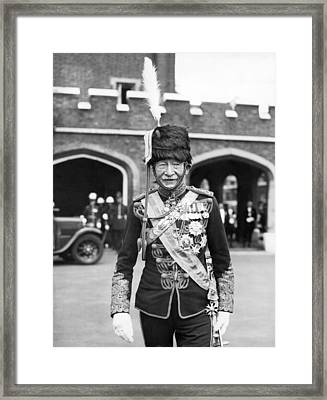 Robert Baden-powell Framed Print by Underwood Archives