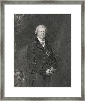 Robert Banks Jenkinson (1770-1828) Framed Print by Mary Evans Picture Library