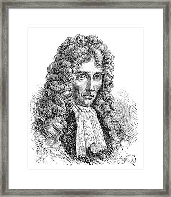 Robert Boyle Framed Print by Science Photo Library
