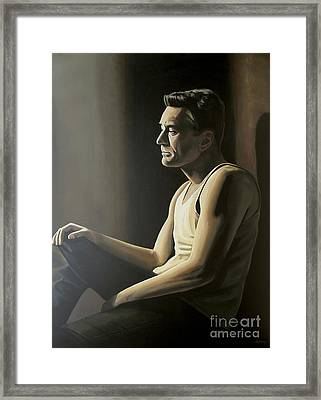 Robert De Niro Framed Print by Paul Meijering
