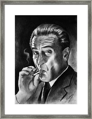 Robert De Niro Framed Print by Salman Ravish