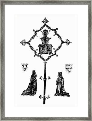 Robert De Paris And Widow Framed Print