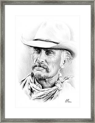 Robert Duvall Framed Print by Andrew Read