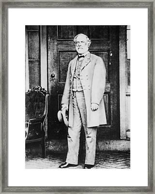 Robert Edward Lee  Framed Print by American Photographer