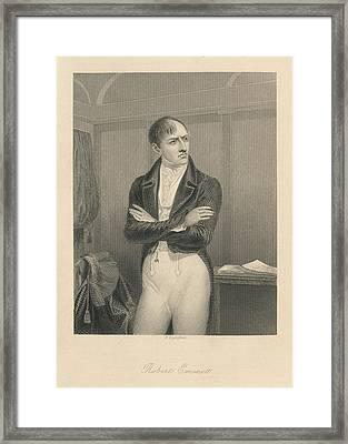 Robert Emmet Framed Print