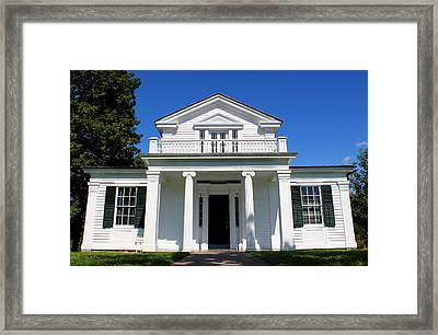 Robert Frost Author Home At Greenfield Village In Dearborn Michigan Framed Print by Design Turnpike