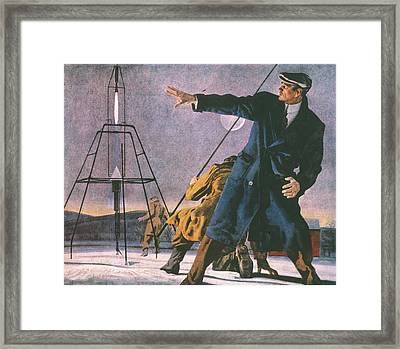 Robert Goddard (1882-1945) Framed Print by Granger