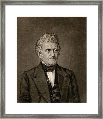 Robert Hare Framed Print by Chemical Heritage Foundation