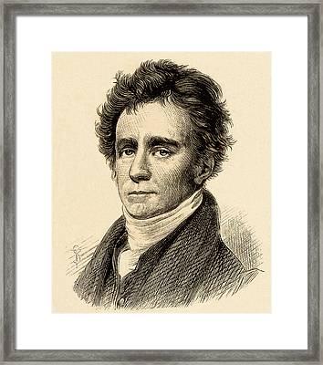 Robert Jameson Framed Print by Universal History Archive/uig