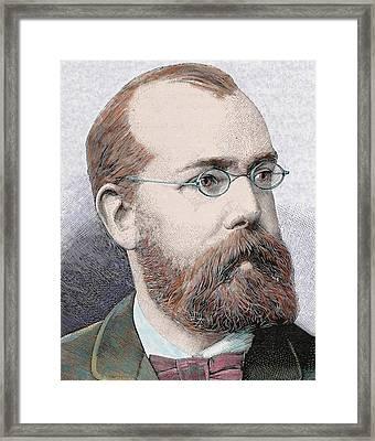 Robert Koch (clausthal, Near Hanover Framed Print