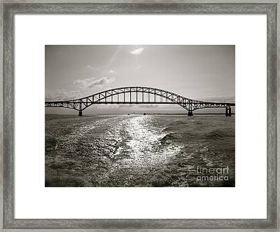 Robert Moses Bridge Framed Print by Paul Cammarata