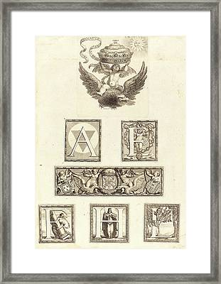 Robert Nanteuil, French 1623-1678, Pendant Framed Print by Litz Collection