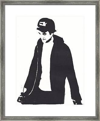 Robert Pattinson 111 Framed Print