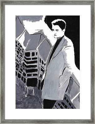 Robert Pattinson 129 Framed Print