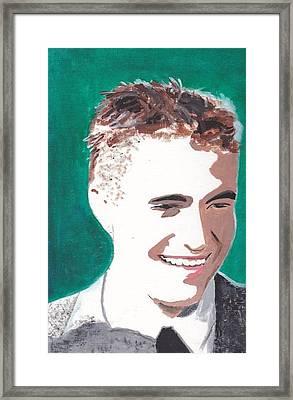 Robert Pattinson 146 A Framed Print