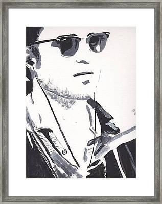Robert Pattinson 151 Framed Print