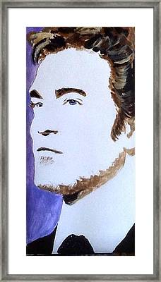 Robert Pattinson 219 Framed Print