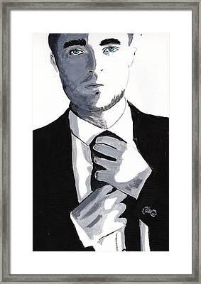 Robert Pattinson 80 Framed Print