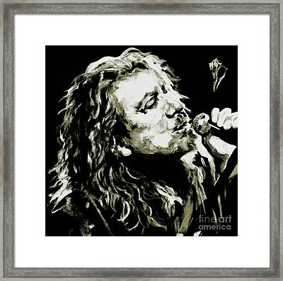 Robert Plant. The Lullaby And The Ceaseless Roar Framed Print