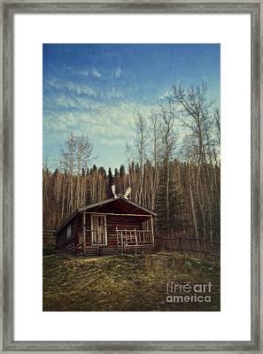 Robert Service Cabin Framed Print by Priska Wettstein
