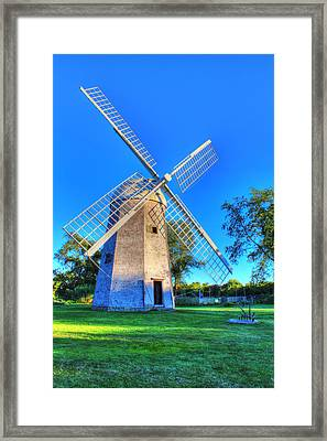 Robert Sherman Windmill Framed Print by Andrew Pacheco