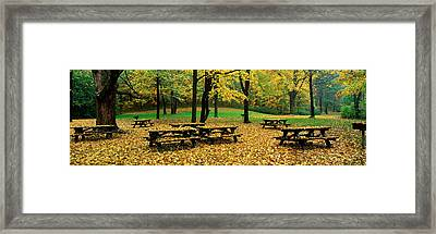 Robert Treman State Park, New York Framed Print by Panoramic Images