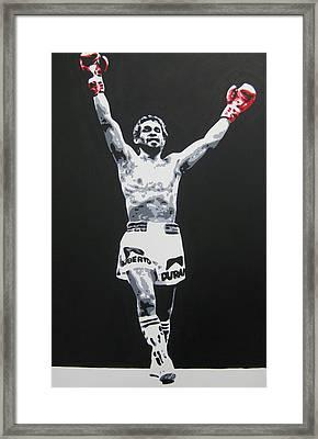 Roberto Duran 1 Framed Print