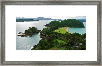 Roberton Island Framed Print by Michele Penner